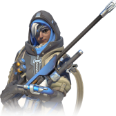 badass old lady (Ana, Overwatch)