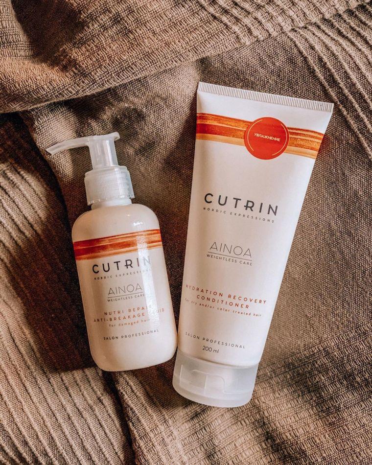 cutrin средства для увлажнения волос