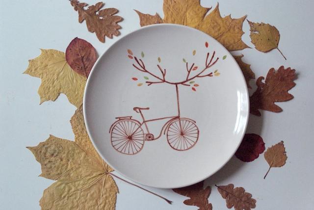 ko-ko-ko тарелка