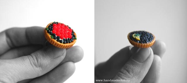 Фимо кольца handmadeclub