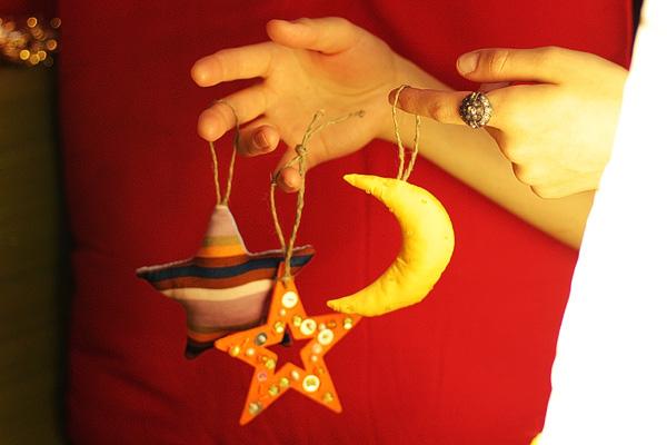 Набор безопасных елочных игрушек zhensina