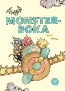 """Bilde av framsida til boka """"Monsterboka"""""""