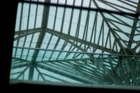 Taket til Gare do Oriente er teikna av den spanske arkitekten Santiago Calatrava – ein slags geometrisk, krystallaktig skog