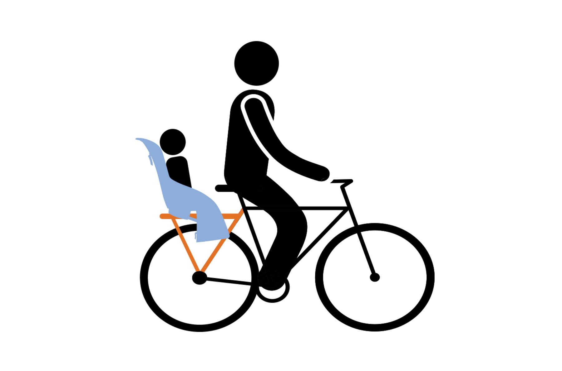 Sichere Kindersitze fürs Fahrrad bei Sunny.Bike