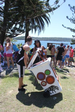 at Boomtown, Shark Island 2010