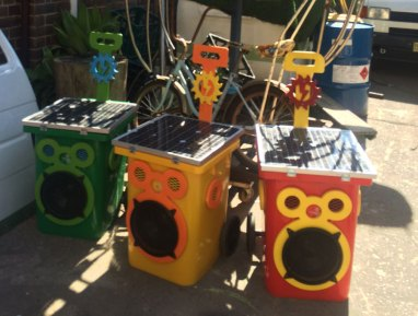 Sunny Buddy sound systems ready to ship