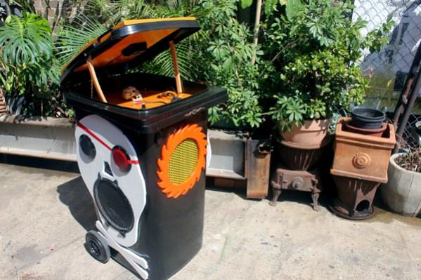 The Pirate bin