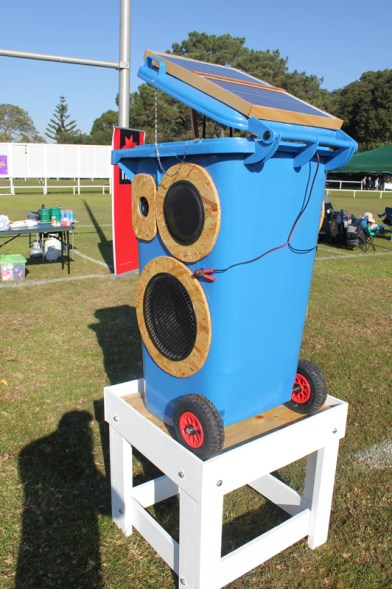 andwick Council purchased 4 Blue Sunny Bins and wireless equipment in 2010 and since then have used them for their ongoing events program