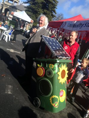 Bin sold to Bendigo Community Farmers Market in August 2013