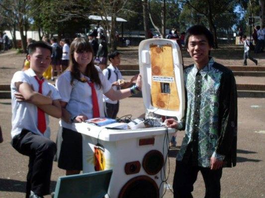 Rhino Blaster sold to Cherrybrook High 2012