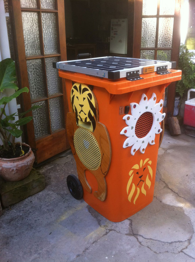 The Lion Bin roars into action in the urban jungle
