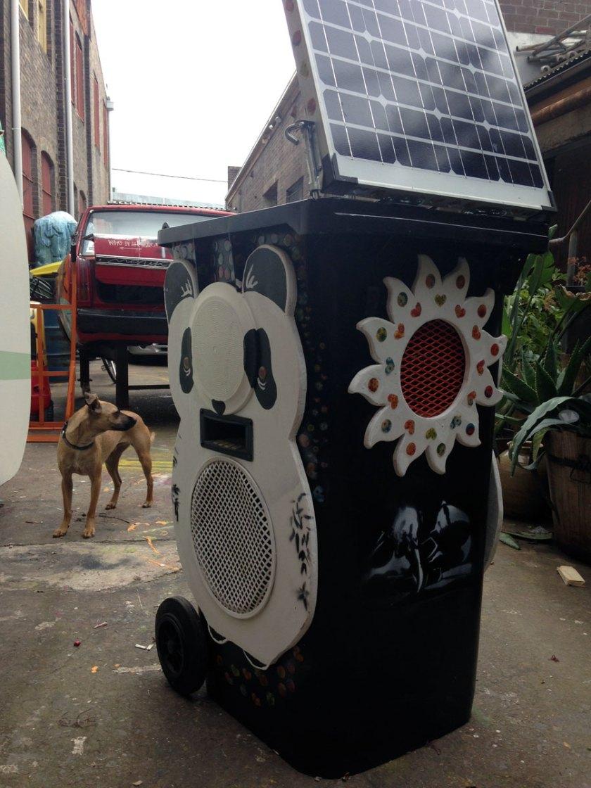 Panda bin revamp
