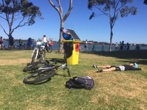 Sunny Bins at Spring Cycle