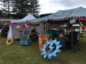 Sunny Bins Solar Stage