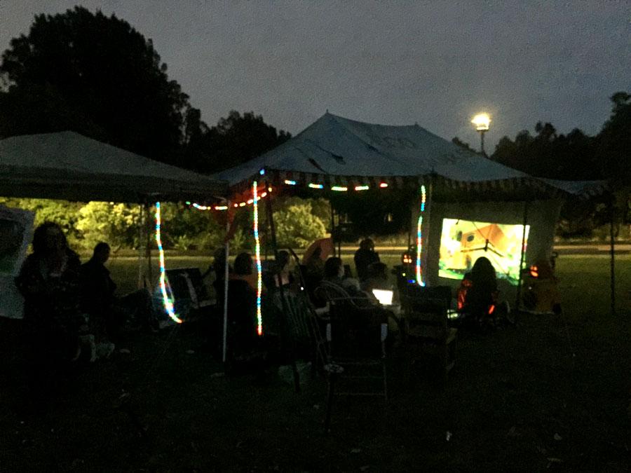 The Sunny Bins Solar Cinema