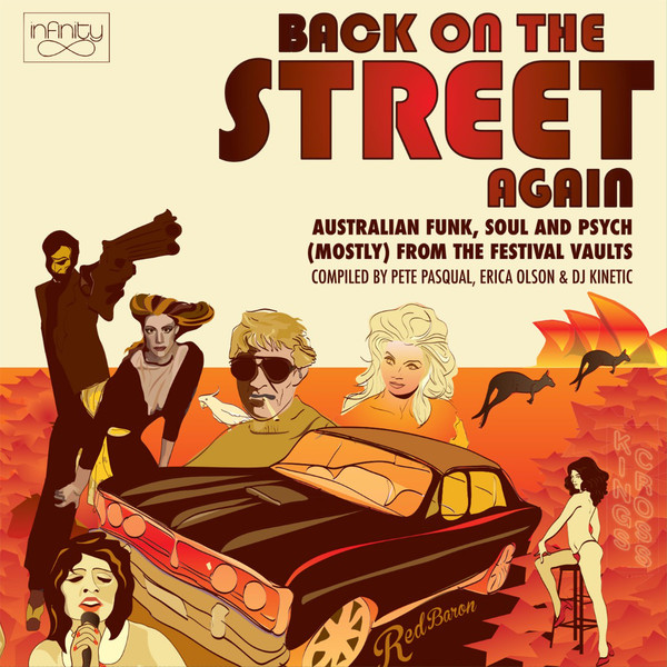 Various – Back On The Street Again : 60s 70s Australian Funk, Soul & Psych From The Festival Vaults Music Album Compilation