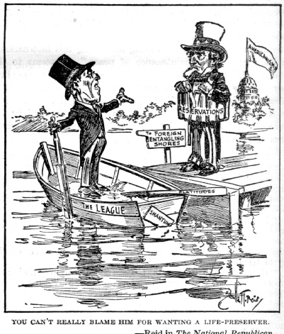 The Versailles Treaty of June 28, 1919