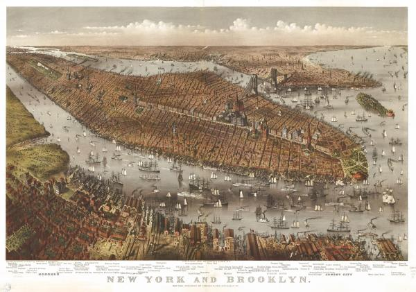 Map Of New York In 1800.York City In 1800 Noo Yorke Map Year Of Clean Water