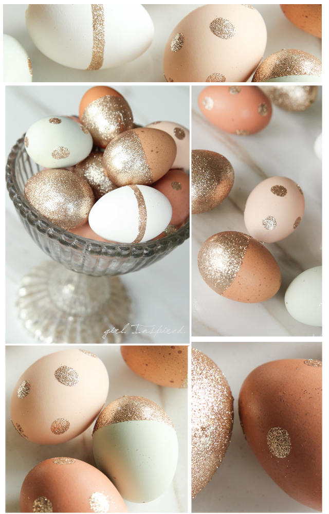 Glitter Πασχαλινά αυγά3