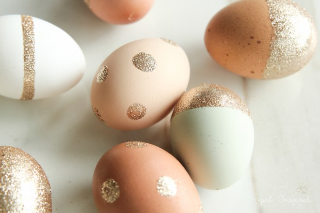 Glitter Πασχαλινά αυγά4