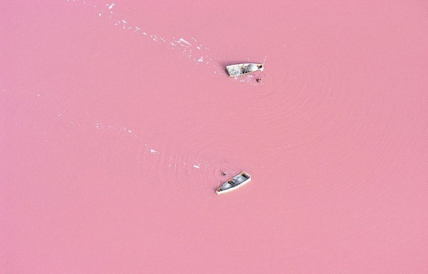 Λίμνη Retba, Σενεγάλη