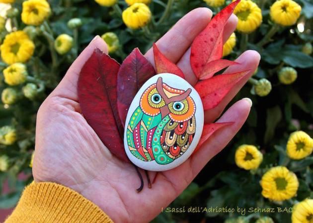 ιδέες τέχνης με πέτρες και βότσαλα2