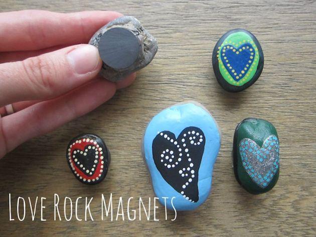 ιδέες τέχνης με πέτρες και βότσαλα3