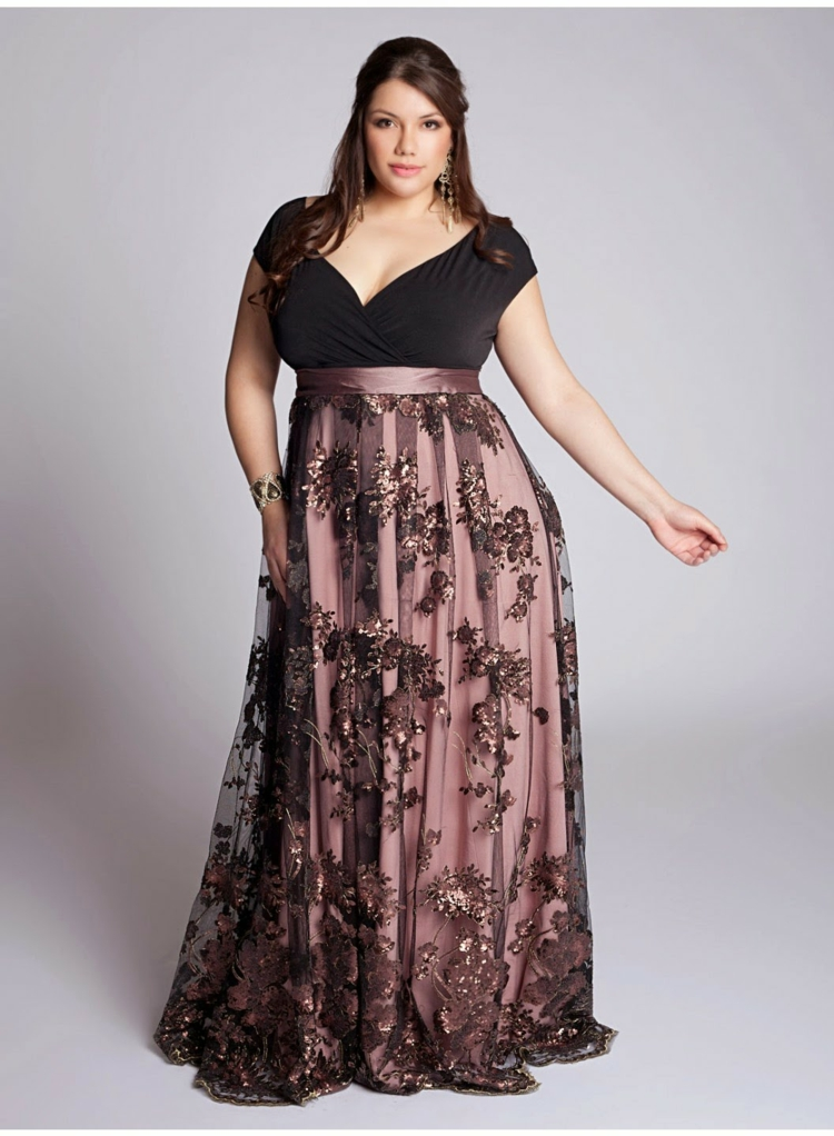 Φορέματα σε μεγάλα μεγέθη - μόδα για γυναίκες με καμπύλες18