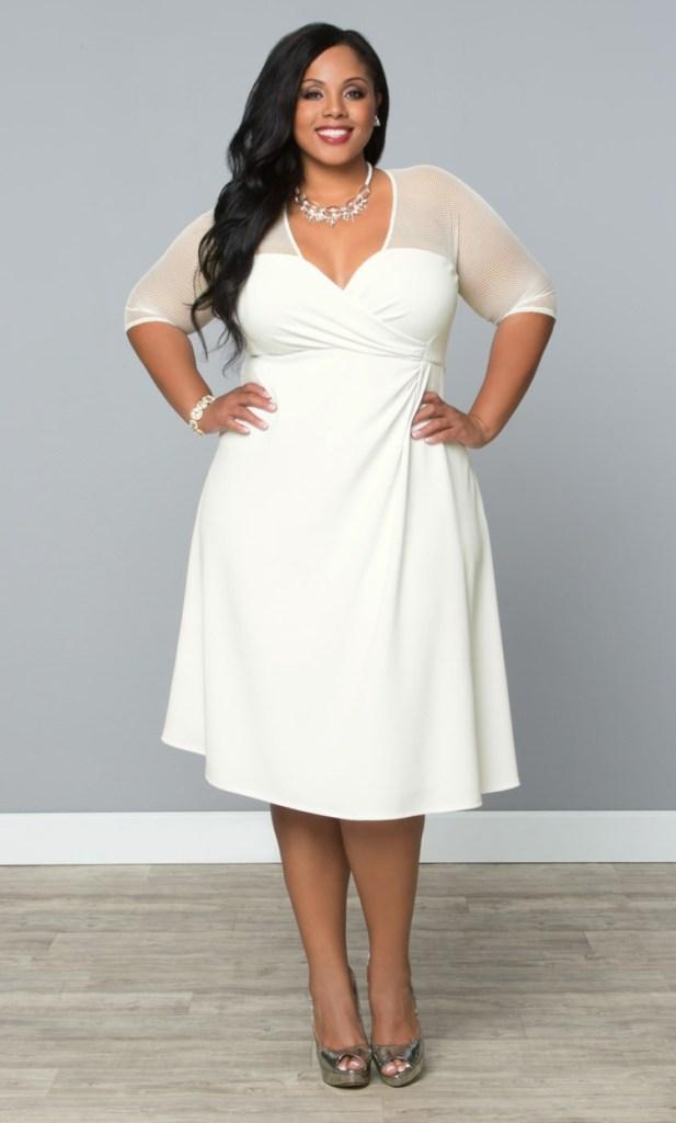 Φορέματα σε μεγάλα μεγέθη - μόδα για γυναίκες με καμπύλες20