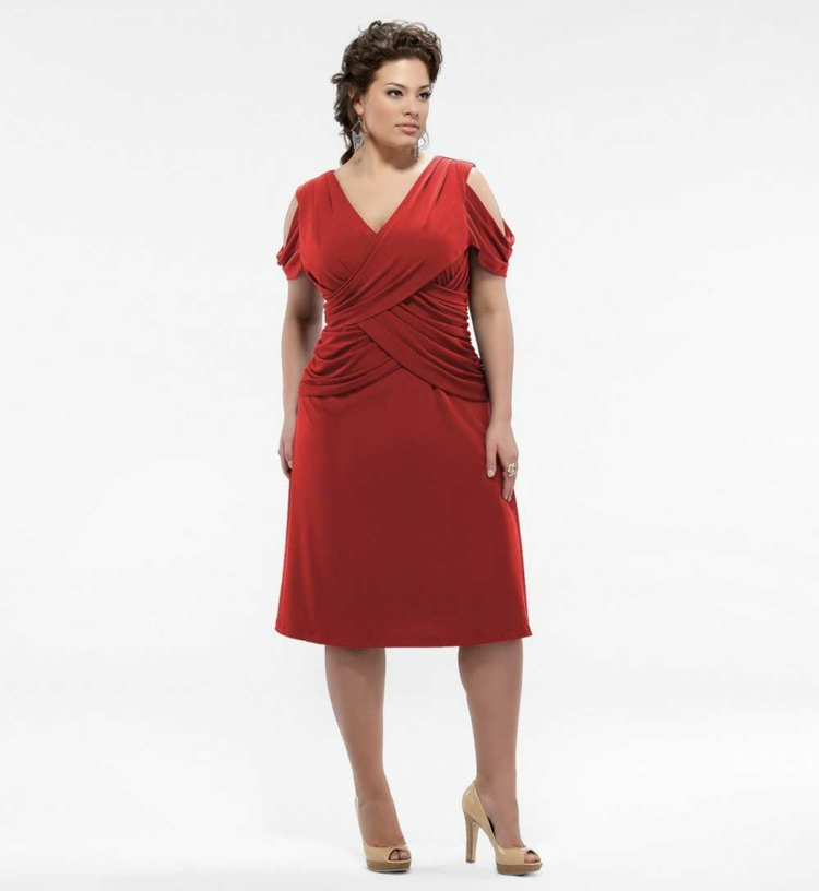 Φορέματα σε μεγάλα μεγέθη - μόδα για γυναίκες με καμπύλες21