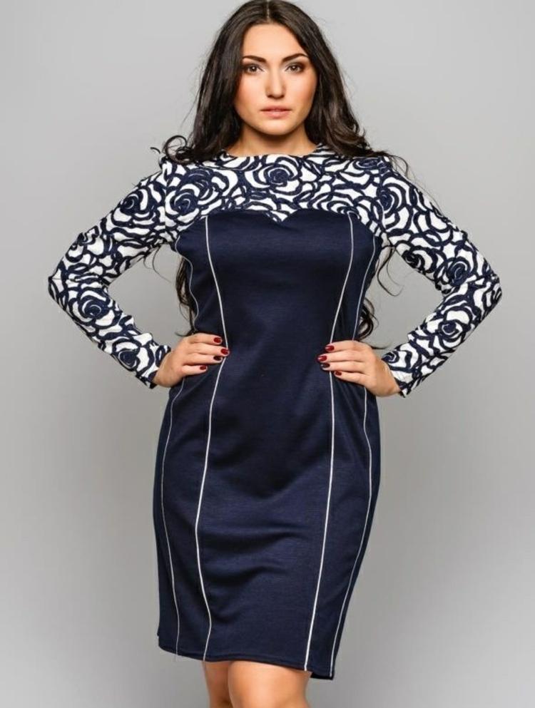 Φορέματα σε μεγάλα μεγέθη - μόδα για γυναίκες με καμπύλες25