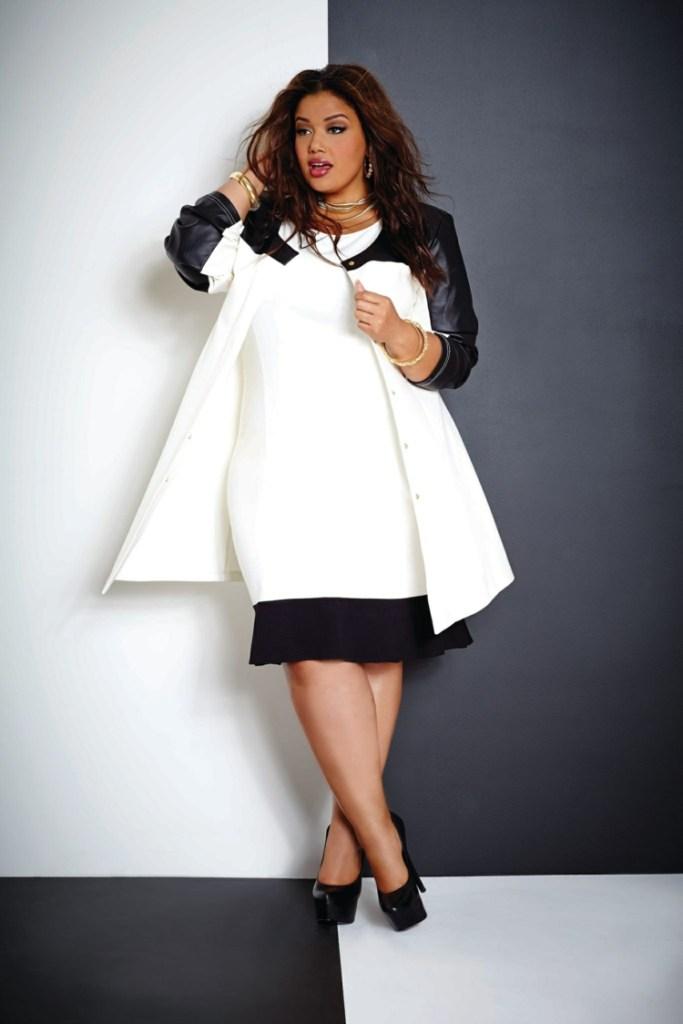 Φορέματα σε μεγάλα μεγέθη - μόδα για γυναίκες με καμπύλες4