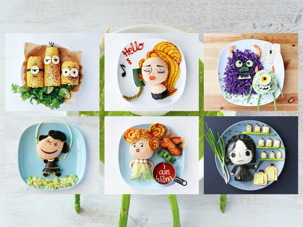 Καταπληκτικά και νόστιμα πορτρέτα από τρόφιμα
