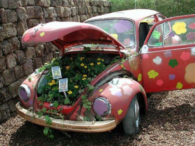ανακύκλωση παλιών αυτοκινήτων ιδέες2