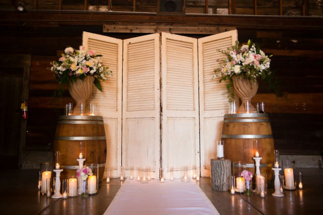Ρουστίκ ιδέες διακόσμησης γάμου21