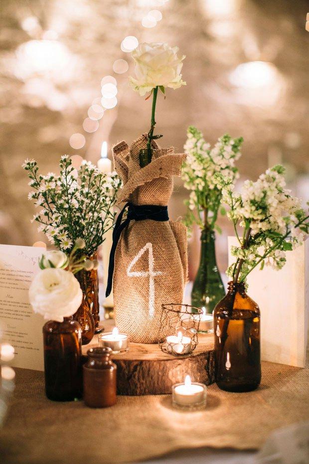 Ρουστίκ ιδέες διακόσμησης γάμου22