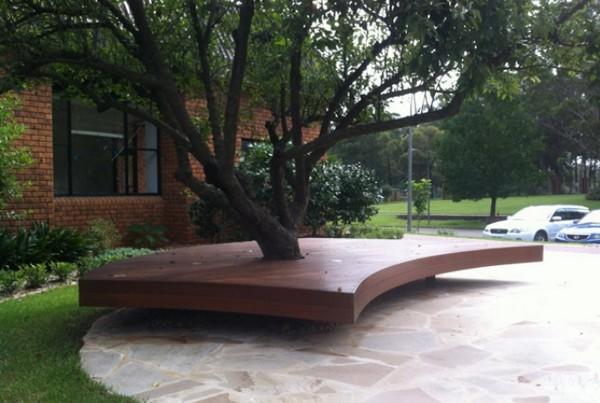 Παγκάκι γύρω από το δέντρο13