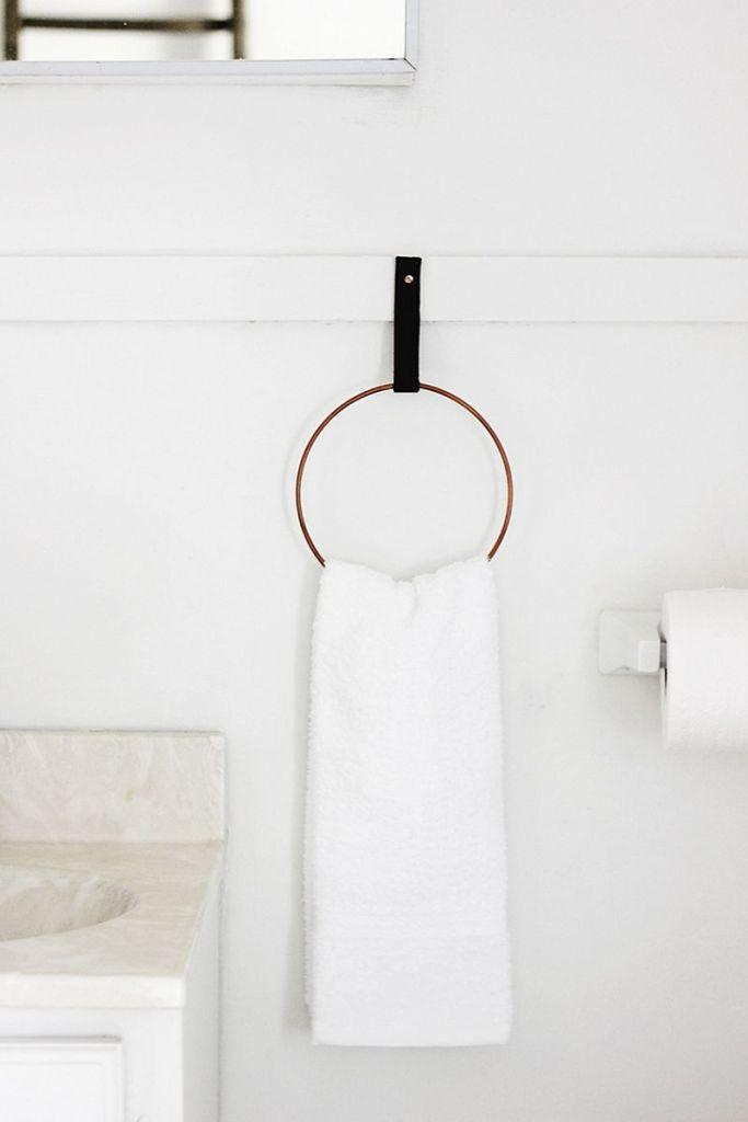 Diy πετσετοκρεμάστρες για το μπάνιο6