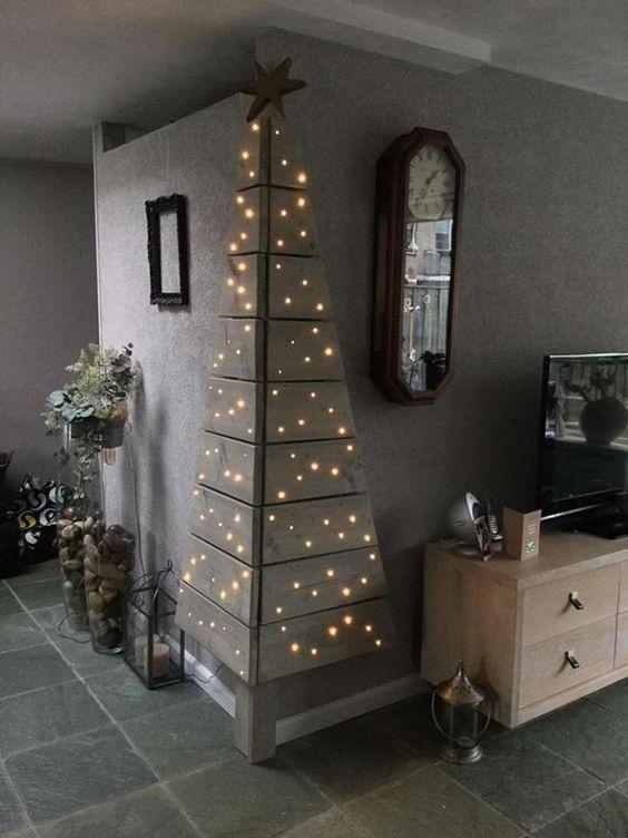 Χριστουγεννιάτικο δέντρο για μικρούς χώρους11