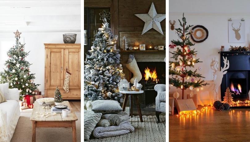 Υπέροχοι διαφορετικοί τρόποι για να διακοσμήσετε το σαλόνι σας για τα Χριστούγεννα