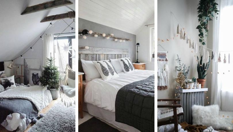 Πανέμορφα χειμωνιάτικα υπνοδωμάτια που θα σας δώσουν ιδέες για να ανανεώσετε το δικό σας