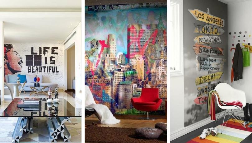 Σούπερ εσωτερικές ιδέες γκράφιτι για ένα μοδάτο αστικό στυλ
