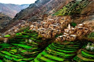 Berber Village Atlas Mountains