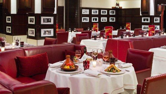 luxury brasserie spirit of Le Fouquet's