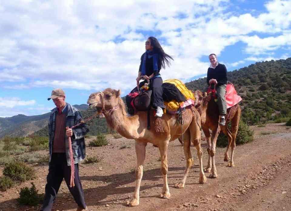 Atlas Mountains & camel ride