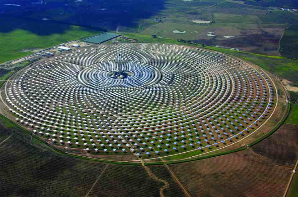 Interesting facts about morocco, The largest solar project in the world
