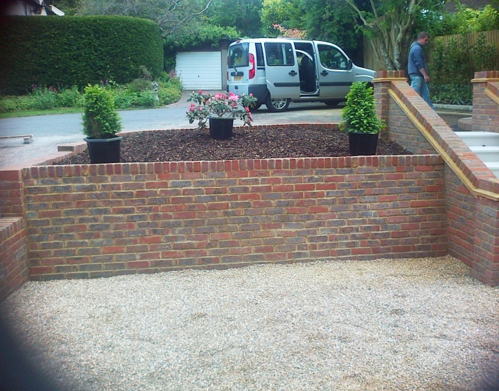 Sunny Gardens | Driveways , Walls and Other Structures