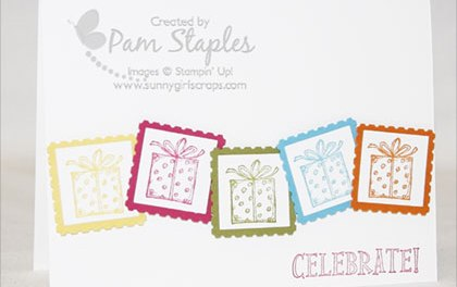 PCCCS #31:  Best of Birthdays Stamp Set