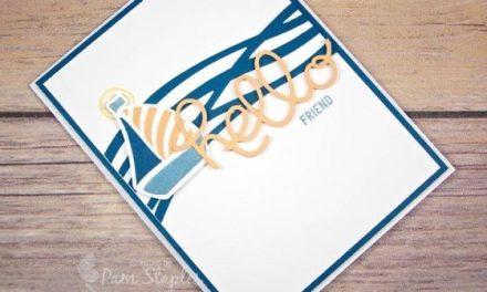 CARD:  Sailing Swirly Bird on CYCI 122