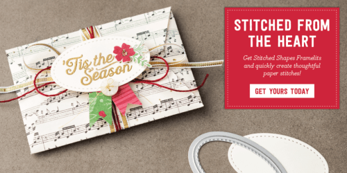 Order the stitched dies from Stampin' Up! before November 30, 2016 or you'll have to wait until June 2017! Order yours from Pam Staples, SunnyGirlScraps and help me promote to Silver Elite by the end of November. Visit www.sunnygirlscraps.com
